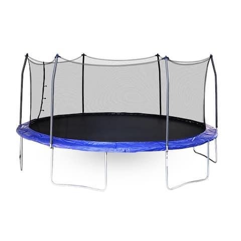 Skywalker Trampolines Blue 17-foot Oval Trampoline with Enclosure