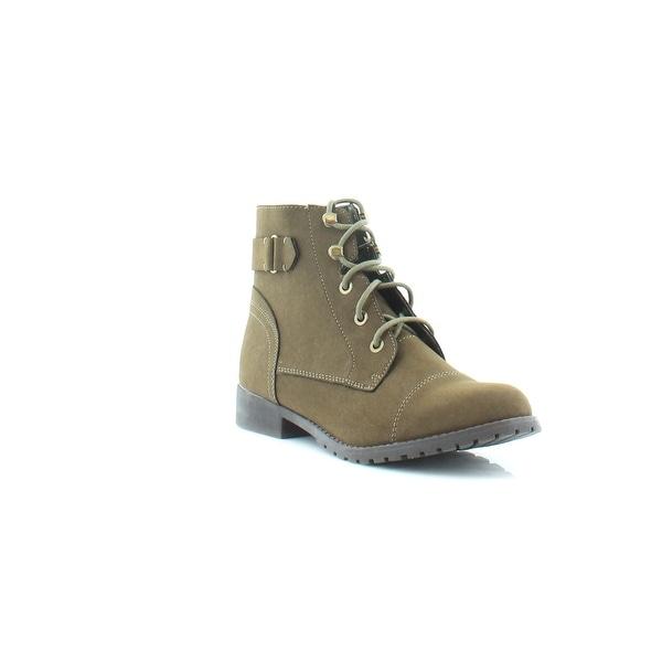 Madden Girl Ranceee Women's Boots Olive