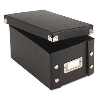 Snap N Store Collapsible Index Card File Box Holds 1100 4 x 6 Card