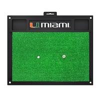 University of Miami Golf Hitting Mat