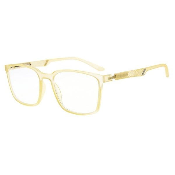 4c6979a5ff6 Eyekepper Useful Large Plastic Frame Readers Special Spring Hinges Reading  Glasses Men Women (Yellow