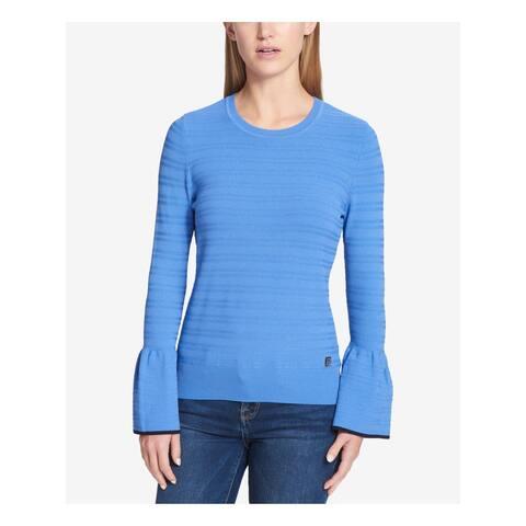 TOMMY HILFIGER Blue Bell Sleeve Sweater XL