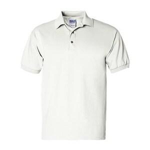 Gildan Ultra Cotton Jersey Sport Shirt - White - XL