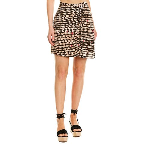 Bcbgmaxazria Side Tie Skirt