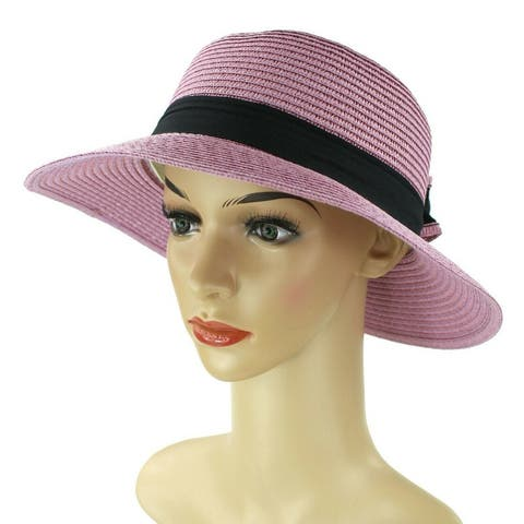 a3fc5a219 Buy Purple, Sun Hat Women's Hats Online at Overstock | Our Best Hats ...