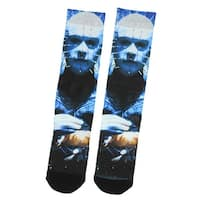 Hellraiser Poster Pinhead Character Sublimated Crew Socks