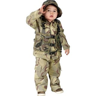 Delta Force Authentic Child Costume - Green