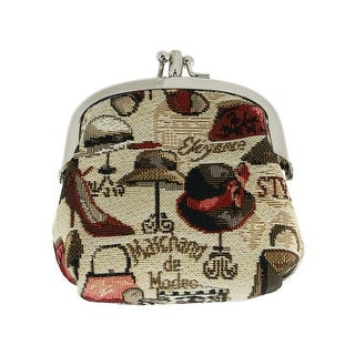 Link to CTM® Women's Boutique Print Tapestry Coin Purse Wallet - one size Similar Items in Wallets
