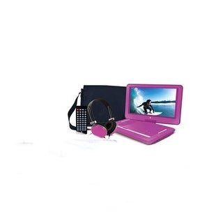 "14"" Portable Dvd Player Pink"