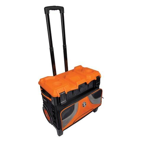 Klein tools tradesman pro tool master rolling tool bag