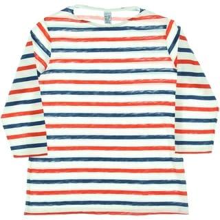 Zara Girls Striped Pullover Top