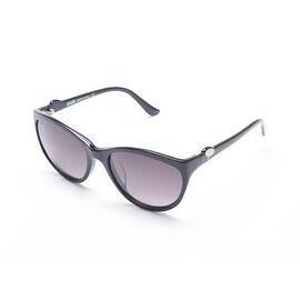 Moschino Women's Cat Eye Sunglasses Black - Small