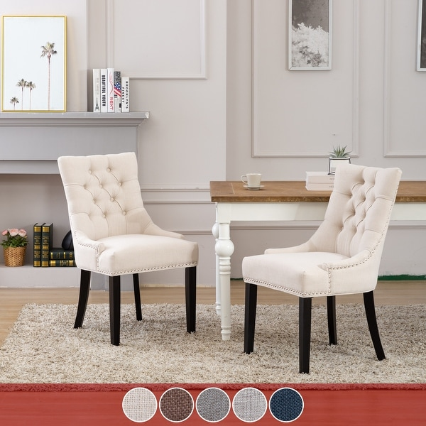 Grandview Tufted Dining Chair (Set of 2) Upholstered. Opens flyout.