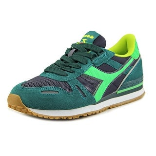 Diadora Titan II Women Round Toe Synthetic Green Sneakers