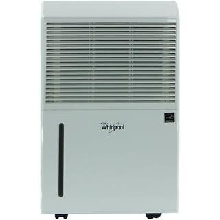 Whirlpool WHAD501AW Energy Star 50-Pint Portable Room Dehumidifier - White