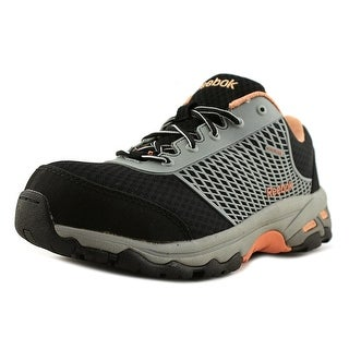 Reebok Work Heckler Women  Round Toe Synthetic Black Running Shoe