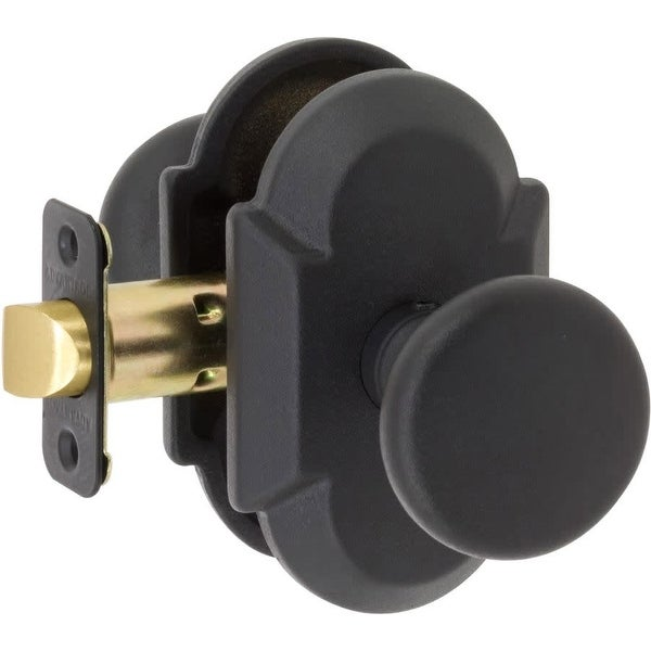 Delaney BP-100TB-TU Tuscan Single Cylinder Keyed Entry Door Knob Set from the SandCast Collection with Curved Rosette
