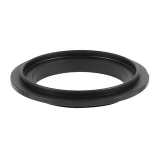 Aluminum 52mm Ring Adapter Black for Canon EF EF-S Mount 450D 1000D 50D DSLR