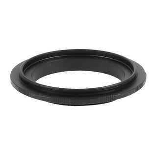 Aluminum 52mm Ring Adapter Black for Canon EF EF-S Mount 450D 1000D 50D DSLR