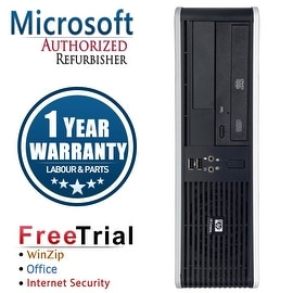 Refurbished HP Compaq DC5800 Small Form Factor Core 2 Duo E7600 3.0G 2G DDR2 80G DVD WIN 10 Pro 64 1 Year Warranty