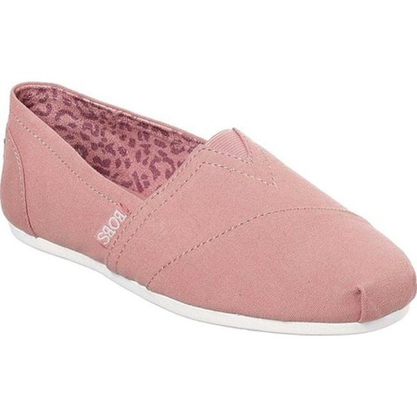 b329c49c2a05 Shop Skechers Women's BOBS Plush Peace and Love Rose - Free Shipping ...