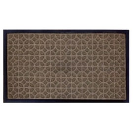 "W J Dennis LUFLBE1830 Rubber Floor Mat, 18 "" x 30 "", Beige"