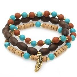 Boho Gemstone Bracelet Set - Exclusive Beadaholique Jewelry Kit