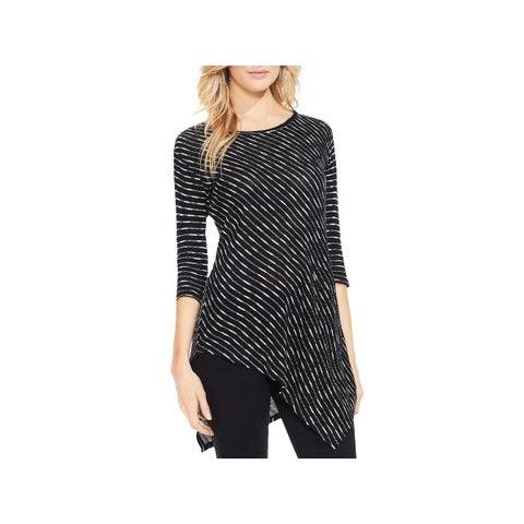Two by Vince Camuto Womens Pullover Sweater Directional Open Knit - S