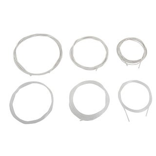 6 Pcs Musical Instrument Part Acoustic Guitar Steel Nylon String