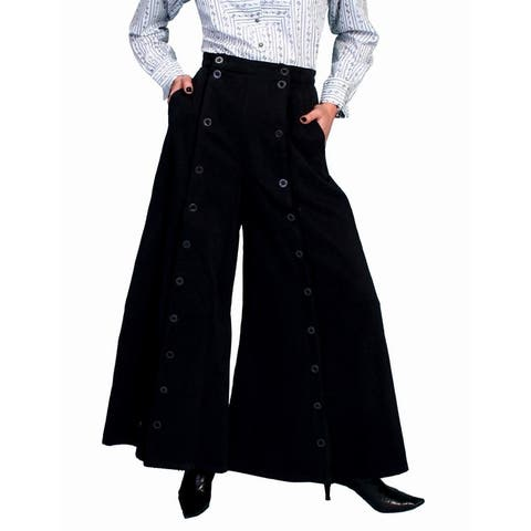 Scully Western Skirt Womens Old West Long Split Riding