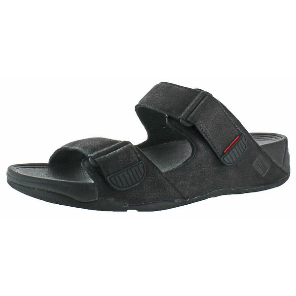 FitFlop Gogh Mens Adjustable Buckle Slide Sandals