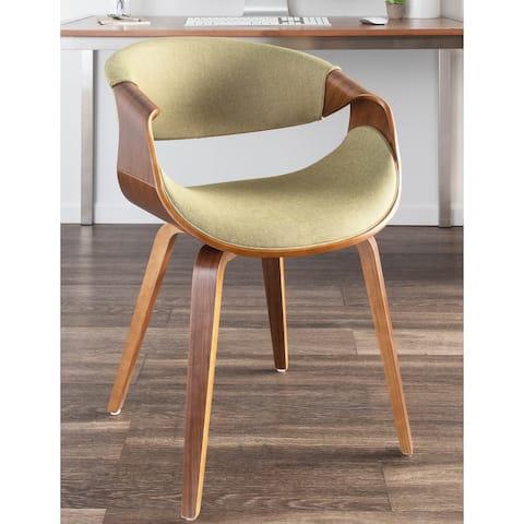 Carson Carrington Sauda Cross Frame Dining/ Accent Chair - N/A