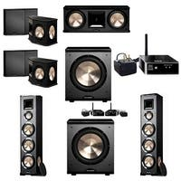 BIC Acoustech 5.2 System with 2 PL-980 Speakers, PL-200 Wireless Subwoofer, 1 PL-200 Subwoofer, 1 Wireless Receiver Add on