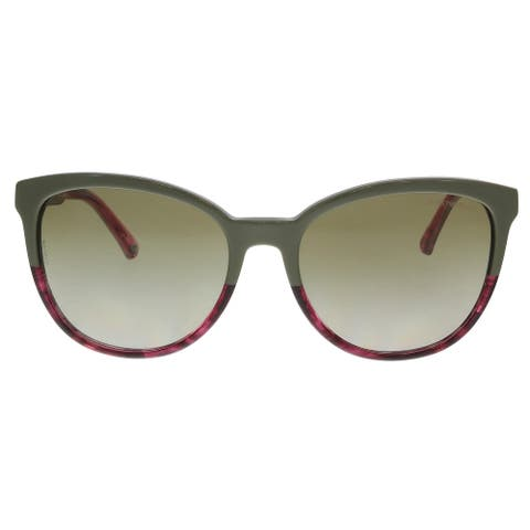 Emporio Armani EA4101 556913 Military/ Striped Pink Cat Eye Sunglasses - 56-17-140