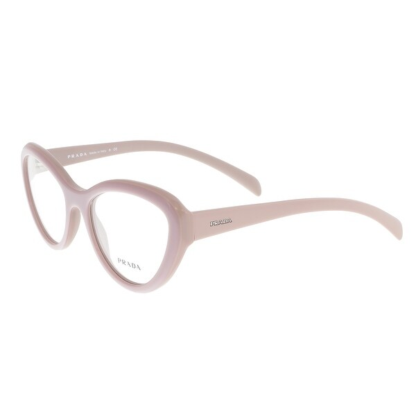 6c564dd263c3 Shop Prada PR 25RV TKP101 Pink Cateye Optical Frames - 52-18-140 ...