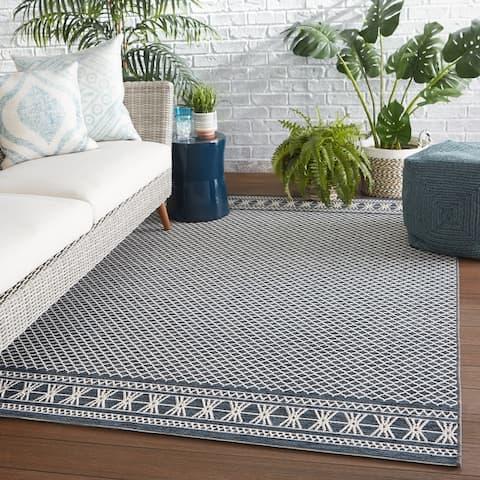 Renae Indoor/ Outdoor Trellis Area Rug