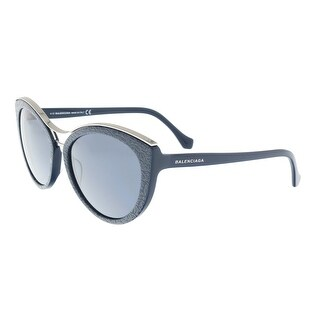 Balenciaga BA0033/S 90A Blue Cateye Sunglasses - 57-18-135