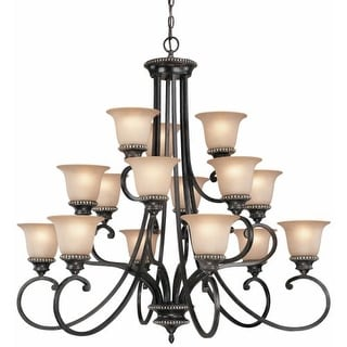 Dolan Designs 1753 15 Light Up Lighting Chandelier from the Hastings Collection