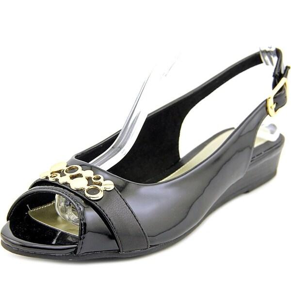 Easy Street Imprompt Women W Open-Toe Synthetic Slingback Heel