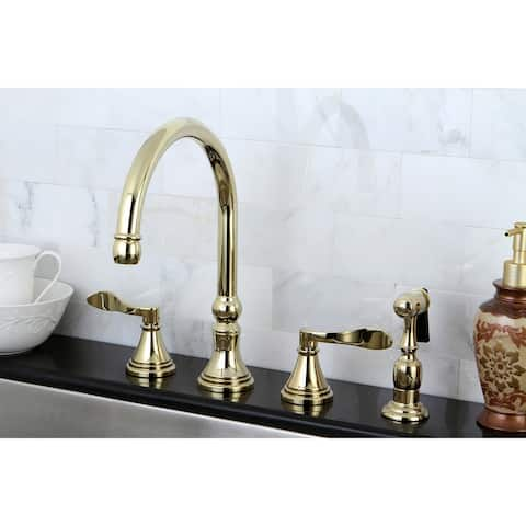 NuFrench Widespread Kitchen Faucet