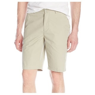 Calvin Klein NEW Beige Mens Size 34 Twill London Fog Knaki Shorts