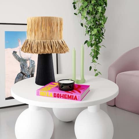 Amira Rafia Natural Table Lamp