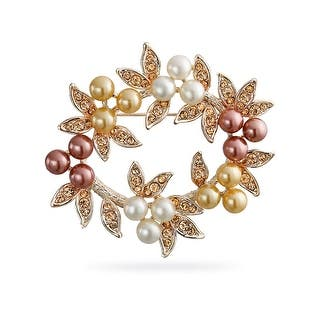 Bling Jewelry Imitation Pearl Christmas Wreath Bridal Brooch Pin Rose Gold Plated|https://ak1.ostkcdn.com/images/products/is/images/direct/4f2f8decbed9c68d2432645b725ad2e915c6b6a7/Bling-Jewelry-Imitation-Pearl-Christmas-Wreath-Bridal-Brooch-Pin-Rose-Gold-Plated.jpg?impolicy=medium