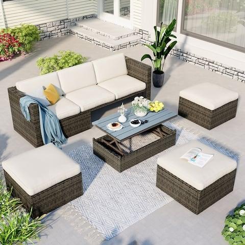 5-Piece Outdoor Patio Furniture Sets.