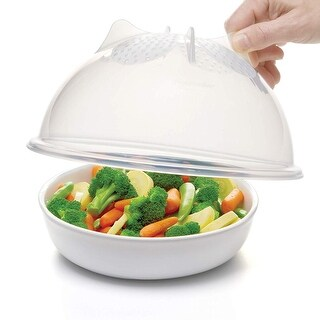 Prep Solutions by Progressive PS-56C High Dome Microwave Food Cover, 10.25 inches, Clear