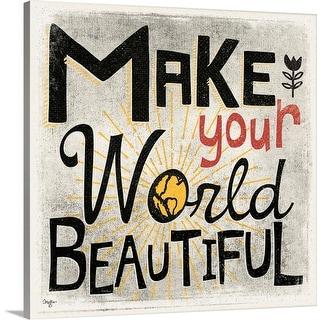 """""""Beautiful"""" Canvas Wall Art"""