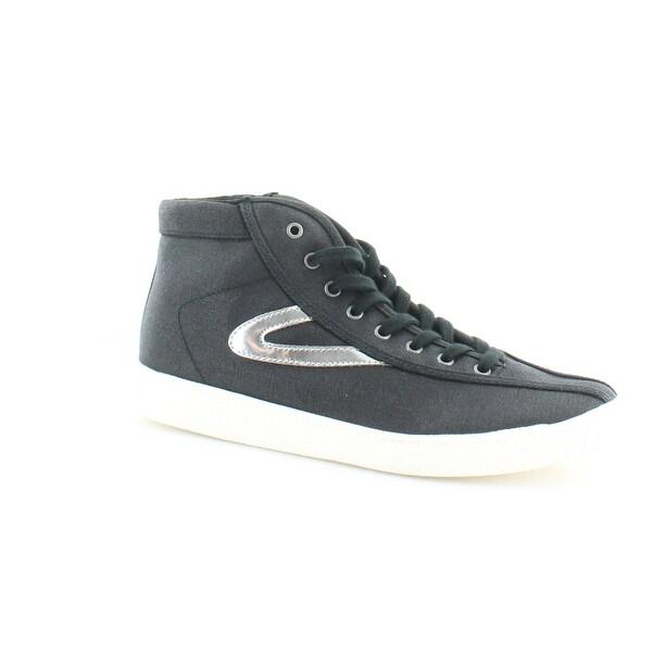 Tretorn Nylitehi Women's Heels Black/Silver - 9.5
