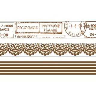 Timeless - Kaisercraft Printed Tape 48' Total 3/Pkg