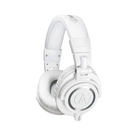Audio-Technica Professional Studio Monitor Headphones, White
