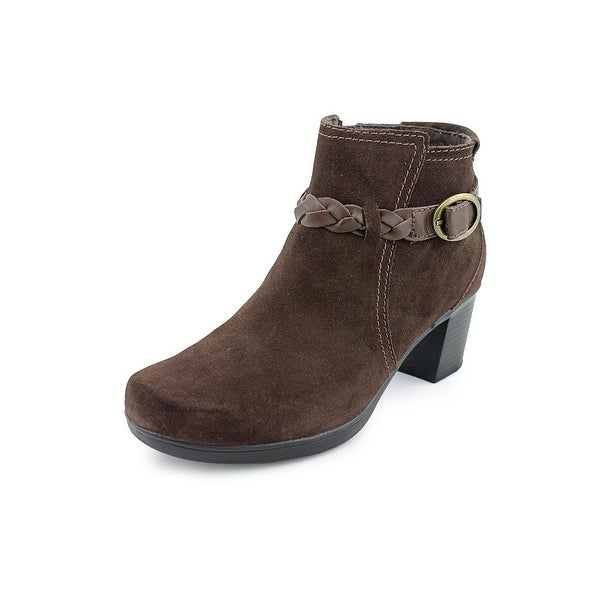 Clarks Narrative Scheme Act Q  W Round Toe Suede  Ankle Boot